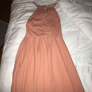 Francesca's Salmon Pink dress